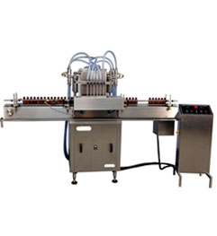 Fully Automatic Linear Volumetric Filling Machine